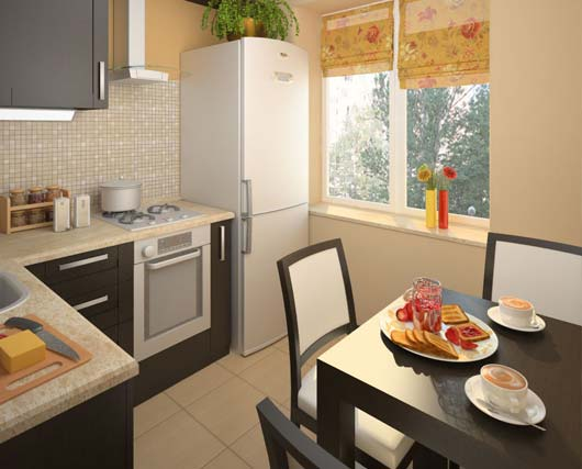 дизайн малогабаритной кухни 5 кв м фото 15