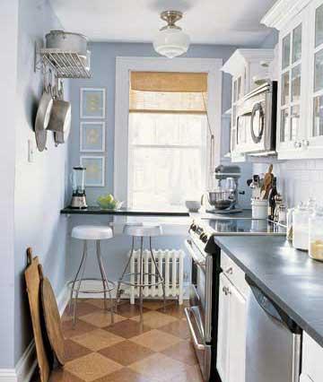 Дизайн узкой кухни: выбираем планировку и определяемся с отделкой. Дизайн узкой кухни: правила расстановки акцентов