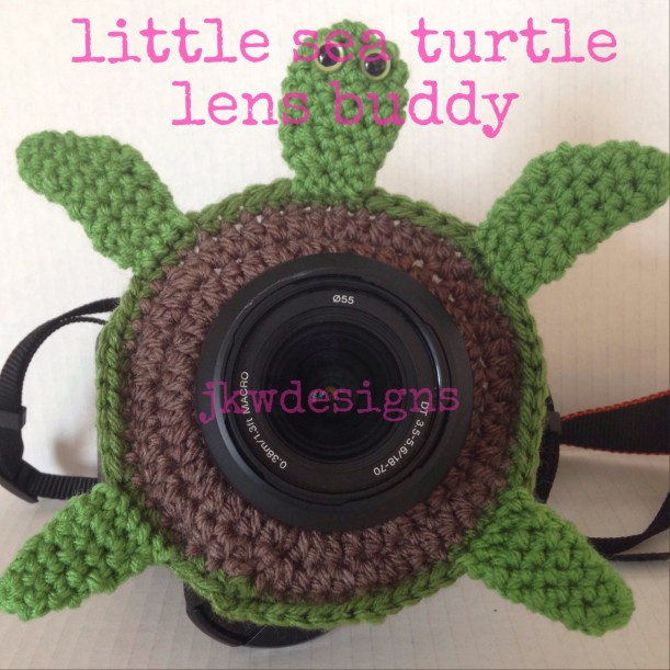 sea turtle lens buddy