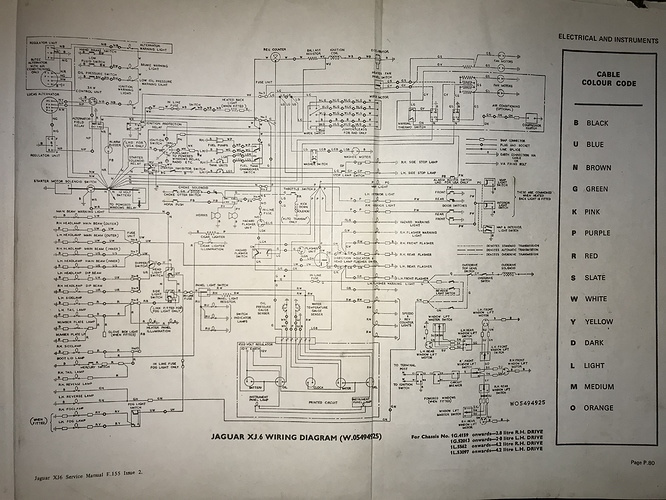 Wiring Diagram Xj6