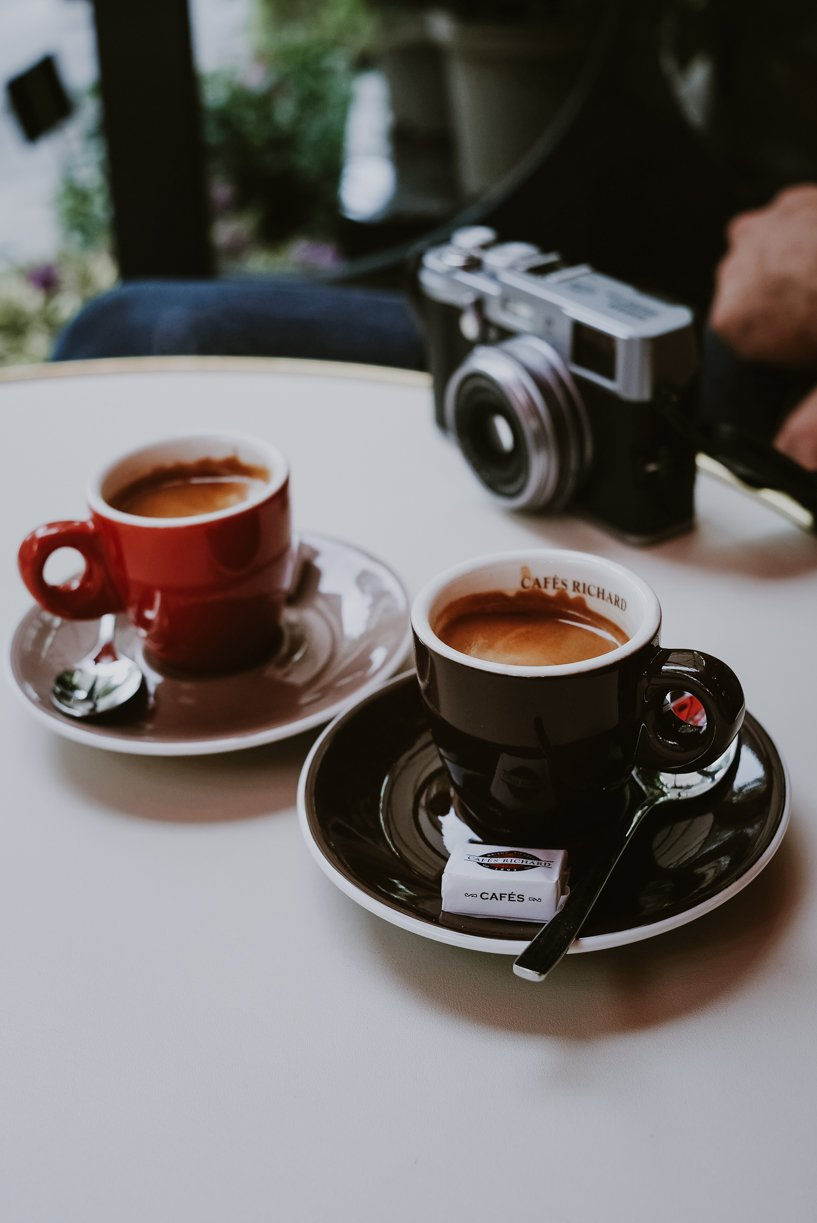 Espresso and a Camera