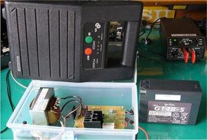 2.5Ah鉛蓄電池用充電器
