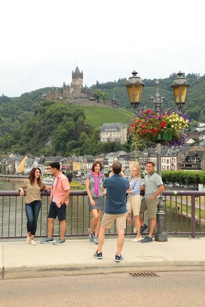 View of Cochem Castle on the Rhine