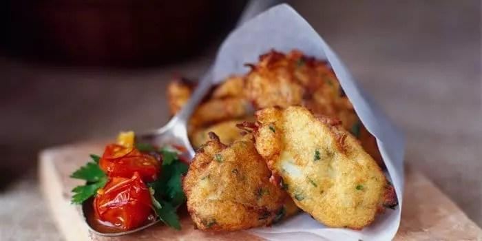 Bacalhau cod fritters