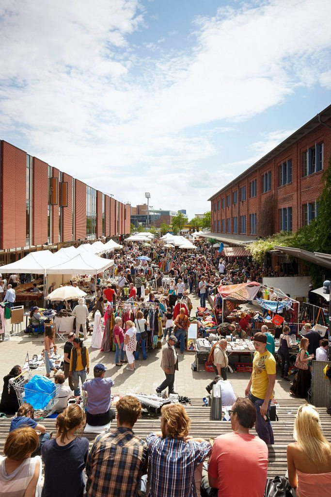Flea Market in Hamburg
