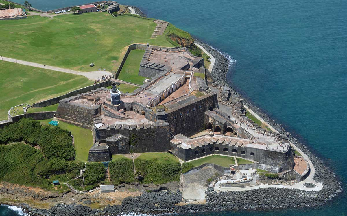 Fort in the Caribbean