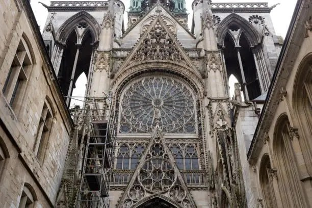Gothic Notre Dame Cathedral