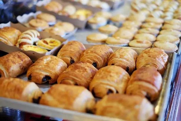 Croissants in Paris France