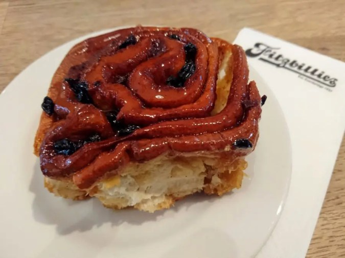 Chelsea buns at Fitzbillies