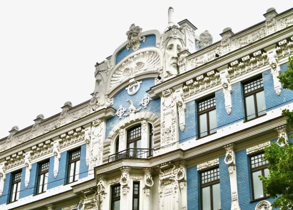 Riga Art Nouveau District