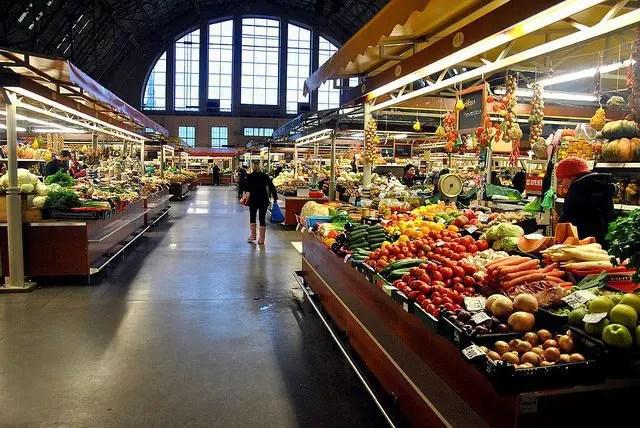 Riga Central Market Indoors
