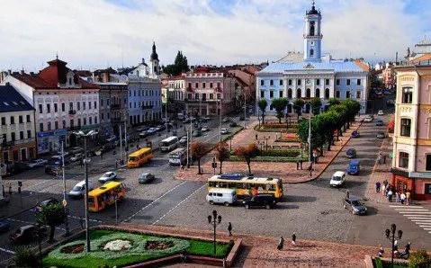 Chernivtsi Main Square