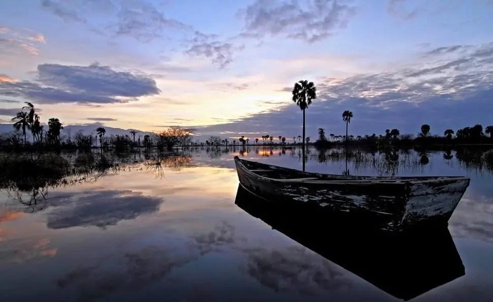 Lake Enriquillo in the Dominican Republic