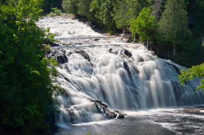 Northwoods Photography  Waterfalls of Northern Wisconsin