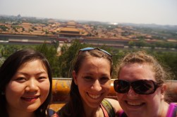We got to tour the Forbidden City with my friend, and one of my old roommates from Wales!