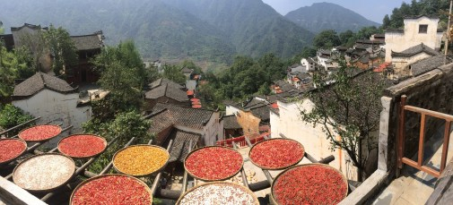 This beautiful village is built into the side of the mountain. The people here would dry hot peppers on their roofs. Sadly, years ago, the government forced the villagers out for the sake of tourism.