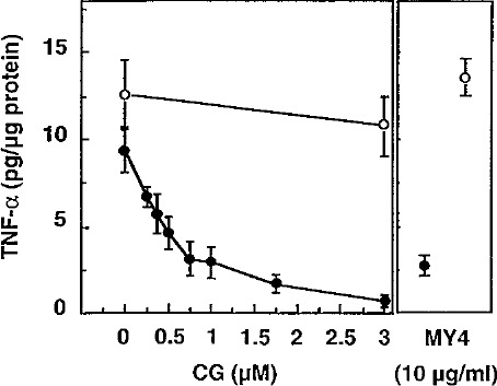 Human neutrophil cathepsin G down‐regulates LPS‐mediated