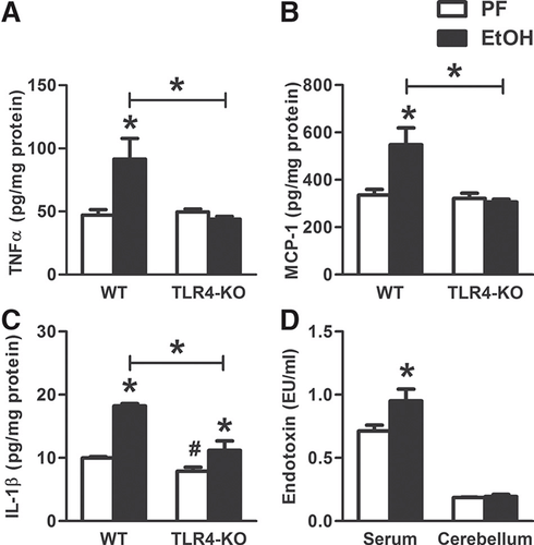 Alcohol‐induced IL‐1β in the brain is mediated by NLRP3