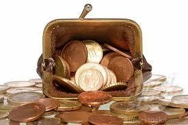 purse overflowing