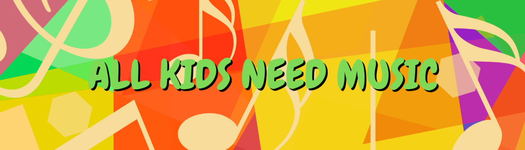 All Kids Need Music charity for children