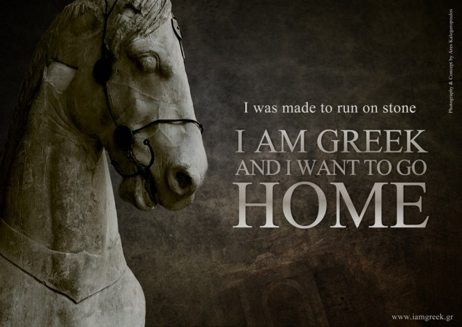 I was made to run on stone. I am Greek and I want to home