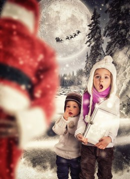 In Search of Santa Claus by Sascha Genennig