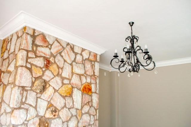 Plastered ceilings