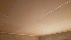 Bishop Strip Ceiling installation