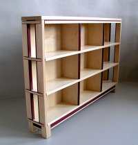 dvd shelf rack