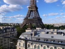 View of Pullman Hotel Paris Eiffel Tower