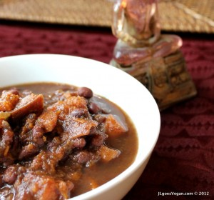 Black Bean & Sweet Potato Stew 2