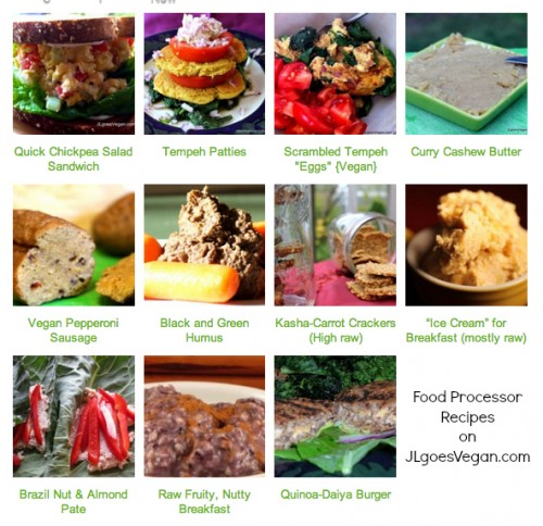 Tip make quick meals using a food processor vegan mofo 14 jl using my food processor not all of these recipes forumfinder Gallery