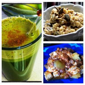 Juice and breakfast on JL goes Vegan