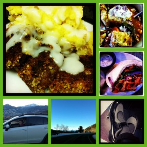 vegan haircare, car seats, bowling and country fried seitan