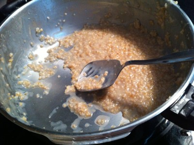 steel-cut oats in the pressure cooker