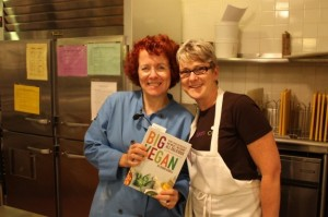 Robin Asbell and JL Fields at Natural Gourmet Institute