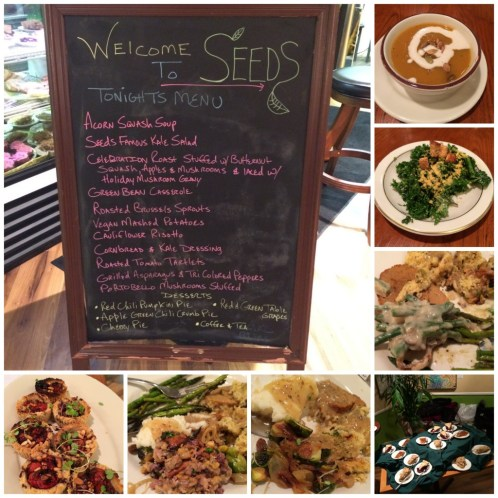 Seeds Community Cafe | Colorado Springs Vegan Thanksgiving Dinner