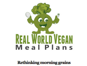 real world vegan meal plans newsletter