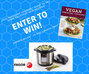Win A Fagor Lux Multicooker Vegan Pressure Cooking 2nd Edition