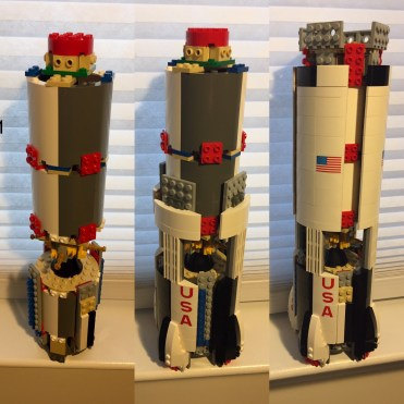 Saturn V stages 1-3