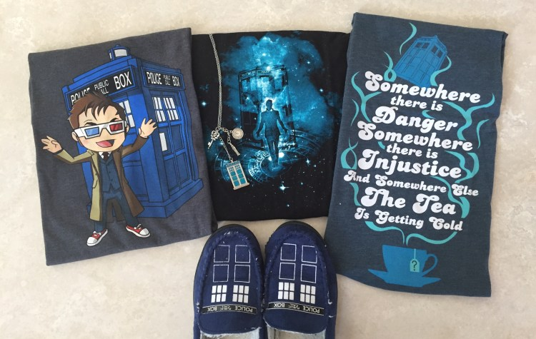 TARDIS contest clothing