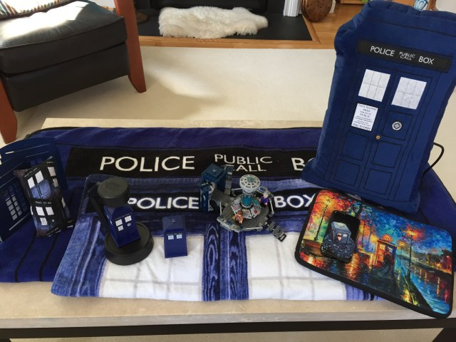 TARDIS contest other