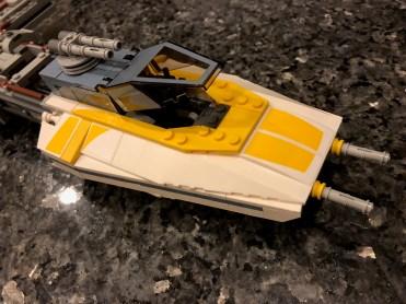 Y-wing cockpit