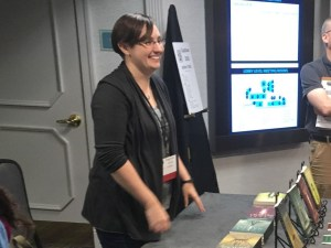 author table Capclave 2018