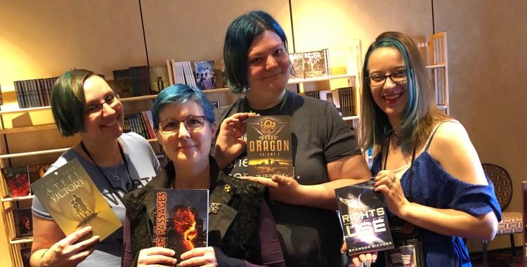blue hair authors