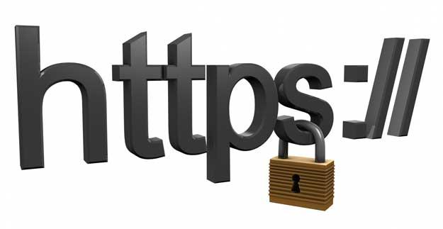 網站使用 HTTPS 連線 登入更安全!