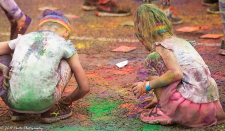 Finger Painting in Style