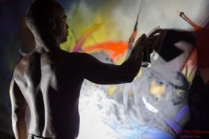 Banga Graffiti Artist from Paris