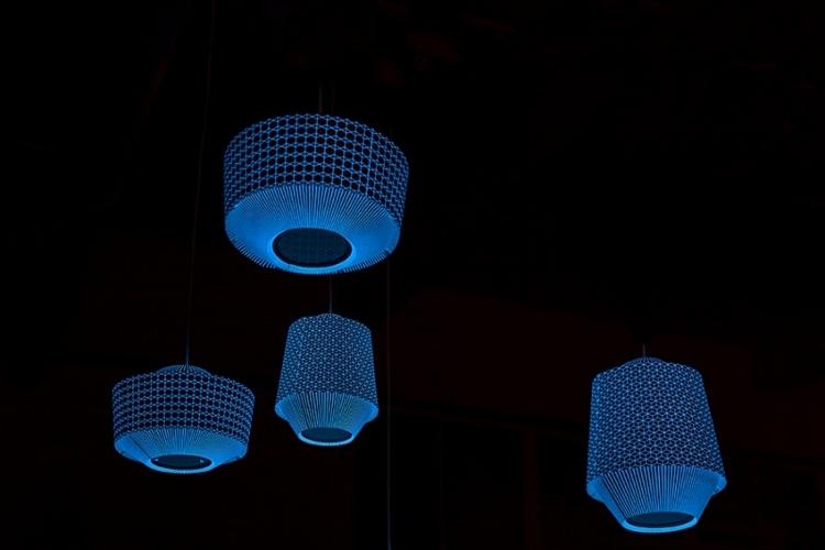lampje in het donker