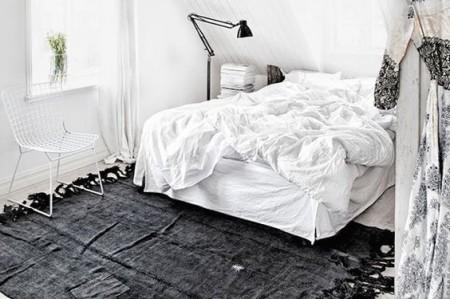 Vloerkleed De Slaapkamer : Vloerkleden in een scandinavische slaapkamer inrichting